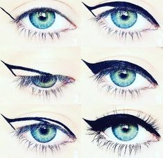Precision Eyeliner Pens making wings easy to do! 5 shades follow the photo guide  https://www.youniqueproducts.com/EyeLashLucious/products/view/US-22105-00#.Vw6pVtT3ah8