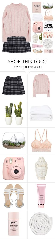 """""""Blush - February"""" by lucidmoon on Polyvore featuring Thakoon Addition, Prada, Frette, American Eagle Outfitters, ASOS, By Terry, philosophy, VIPP, women's clothing and women"""