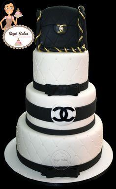 Bolo Chanel cake chanel
