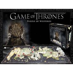 "Game Of Thrones Lautapeli ""Puzzle of Westeros"" • EMP.fi 49,99€"