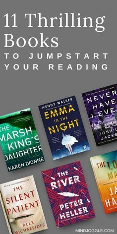 The mysteries and thrillers on this book list from Mind Joggle will keep you on the edge of your seat. If you love a good page-turner mystery, these are great options to get you reading again and stay in the reading habit. #books #mysteries #thrillers #fiction I Love Reading, Reading Books, Reading Lists, Book Lists, Books You Should Read, Best Books To Read, Good Books, My Books, Book Club Reads