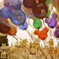 The magic of Disneyland and balloons.