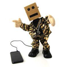 Dancing Robot Speaker - Because.