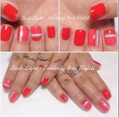 Funky nail design