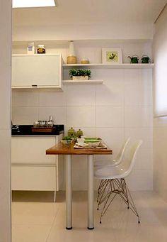 bancada de cozinha com mesa embutida - Pesquisa Google