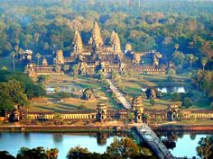 Cambodia, #Angkor Wat   For more on travel, http://drransdell.blogspot.com