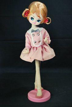 昭和レトロ/ポップ★ポーズ人形 ピンク色★ドール   Jauce Shopping Service   Yahoo Japan Auctions. eBay Japan