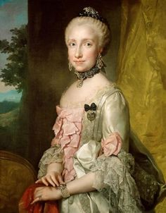 Maria Louisa Grand Duchess of Tuscany,1764-5 by Anton Raphael Mengs