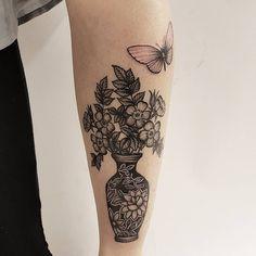 Healed vase