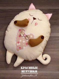 Kitty Pillow Pattern - free