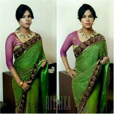 Indian Crossdresser, Crossdressers, Sari, Boys, Collection, Fashion, Saree, Baby Boys, Moda