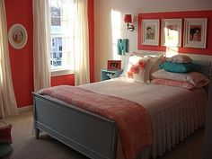 Marisa, This is my ten-year-old daughters room.  It went from little girls light pink and green room to a raspberry and blue space fit for a tween... she loves it!  The last picture shows her old room which we also loved, it was just time for a change., Girls Rooms Design