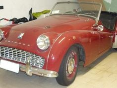 1959 #Triumph TR3 A for sale - € 25.000