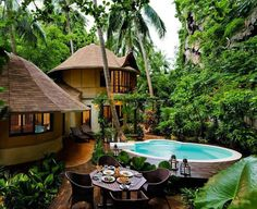 We had a dream that the Rayavadee resort in Thailand was our very own 'jungle hangout' - we did NOT want to wake up!