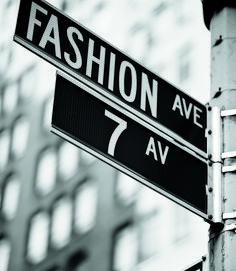 7th Avenue = Fashion Avenue (no real New Yorker calls it this, it's 7th Avenue)