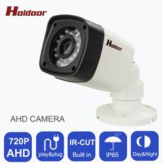Indoor Waterproof Bullet 1.0MP AHD 720P CCTV Camera Security Night Vision IR Video ABS Housing  Surveillance Cameras With IR-CUT