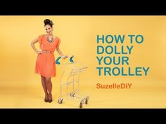 SuzelleDIY - How to Dolly Your Trolley Bitesized DIY Webseries. Because anybody can SuzelleDIY - How to Dolly Your Trolley Planning Your Day, Gif Of The Day, Diy Doll, Something Beautiful, How To Plan, Cool Stuff, Trolley Bags, Bible Scriptures, Beams