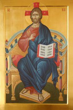 Orthodox Catholic, Orthodox Christianity, King Jesus, Orthodox Icons, Science And Nature, Jesus Christ, Pictures, Holy Quotes, Byzantine
