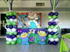 Decoración buzz lightyear para fiesta - Imagui
