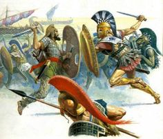 Battle of Marathon 490 BC; Persian Empire vs Hellenic Cities
