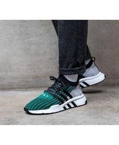 d3f5408525b2 Adidas    adidas Equipment Support Mid ADV (Core Black   Core Black   Sub  Green)