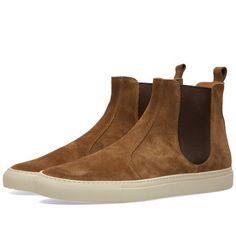 Buttero Tanino Suede Chelsea Boot (Tobacco)