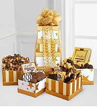 Golden Tower of Chocolates - Better