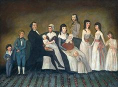 The Cheney Family c.1795 National Gallery of Art US Accession Number 1958.9.9