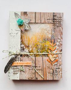 Mini Albums D'halloween, Mini Albums Scrapbook, Photo Album Scrapbooking, Minis, Diy Arts And Crafts, Book Crafts, Paper Crafts, Mix Media, Diy Album Photo
