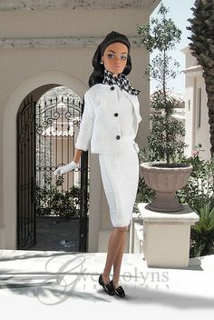 White Suit by Gwendolyns Treasures, via Flickr