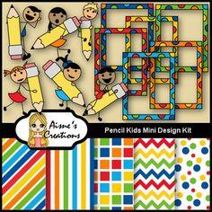 Free Pencil Kids Mini Design Kit