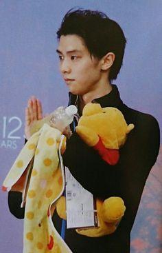 Lord Zuzu with Pooh-san