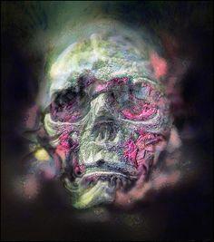 "Portrait of Arthur ""Skullman"" Magus"