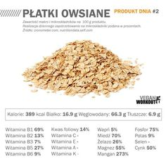 platki owsiane zrodlo Veganworkout.pl