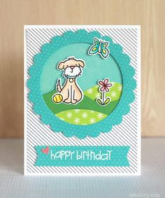 happy birthday by debduty - Cards and Paper Crafts at Splitcoaststampers