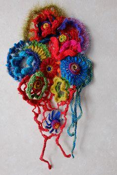 興味深い編み記号     the interesting crochet symbols : 糸始末な日々 Thread&Yarn Handing Days Freeform Crochet, Crochet Art, Crochet Motif, Crochet Mandala, Crochet Symbols, Blog Logo, Textiles, Wearable Art, Crochet Projects