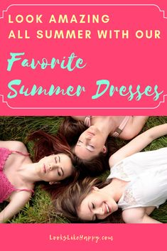 Our Favorite Summer Dresses - stay cool & look great all summer with these fun, stylish dresses!  #dresses #fashion
