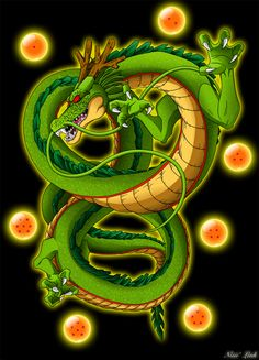 Dragon Shenron by Niiii-Link on @DeviantArt