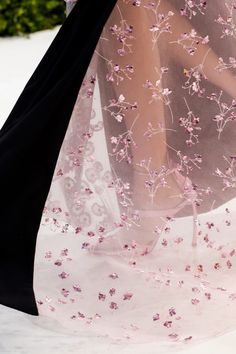 Embroidery at Christian Dior