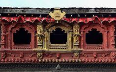 Kumari window, Nepal
