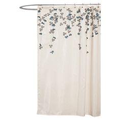 Found it at Wayfair - Flower Drop Shower Curtain