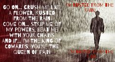 Rusted from the rain by Billy Talent