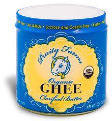 Ghee, butter substitute!
