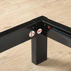 Zinus Modern Studio 14 Inch Platform 1500H Metal Bed Frame / Mattress Foundation / Wooden Slat Support / with Headboard, Twin //http://bestadjustablebed.us/product/zinus-modern-studio-14-inch-platform-1500h-metal-bed-frame-mattress-foundation-wooden-slat-support-with-headboard-twin/