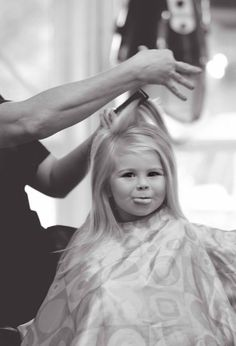 Toddler photography first haircut