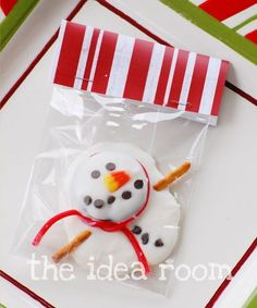 melted snowman treat