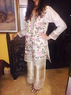 ETNIK COUTUE Summer 2016. Pakistani outfit.
