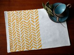 make printed placemats with the kiddos
