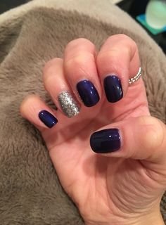 Plum and silver nails Silver Nails, Nail Accessories, My Nails, Plum, Jewellery, Beauty, Silver Nail, Jewels, Schmuck