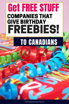 What better way to celebrate your birthday than with free stuff! Check out the great birthday promotions these companies are offering in I just … Free Birthday Gifts, Birthday Rewards, Birthday Deals, Birthday Freebies, Ways To Save Money, How To Make Money, Freebies By Mail, All Kinds Of Everything, Start The Party